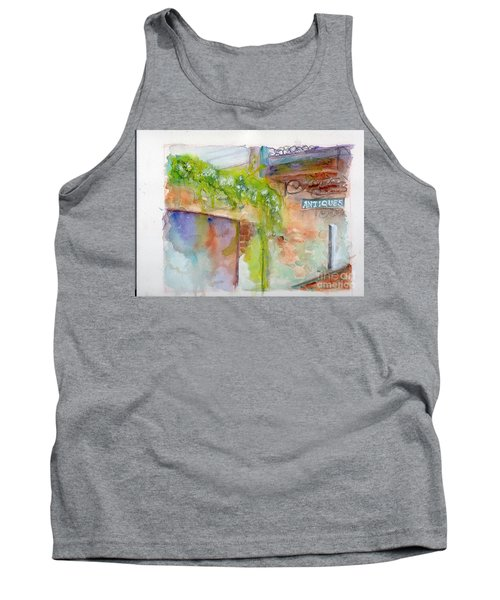 Bull Street Savannah Ga Tank Top