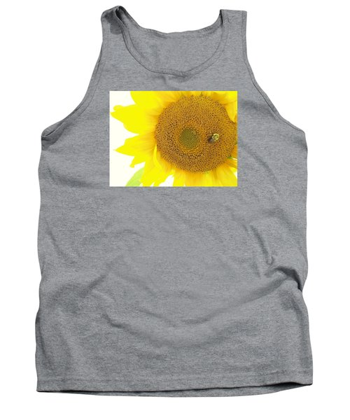 Bumble Bee Sunflower Tank Top