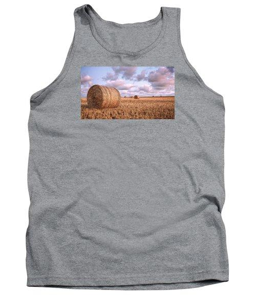 Bundy Hay Bales #1 Tank Top by Brad Grove