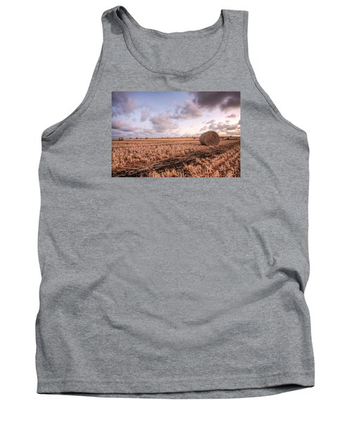 Bundy Hay Bales #2 Tank Top by Brad Grove