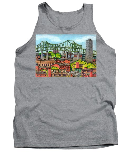 Bunkerhill And Tobin Tank Top by Paul Meinerth