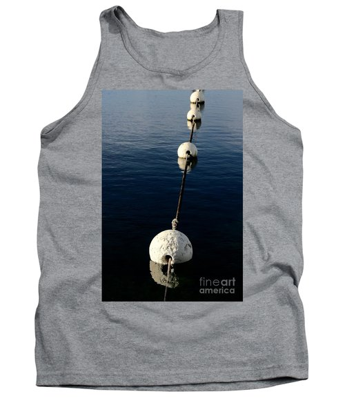 Tank Top featuring the photograph Buoy Descending by Stephen Mitchell