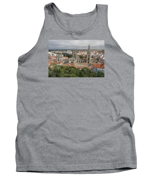 Tank Top featuring the photograph Burgos by Christian Zesewitz