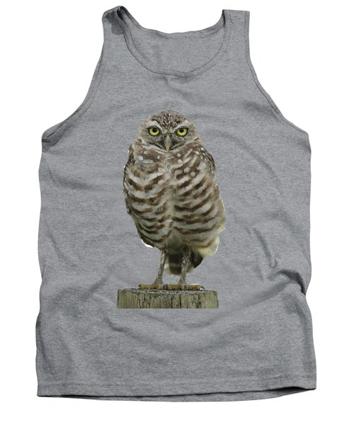 Burrowing Owl Lookout Tank Top
