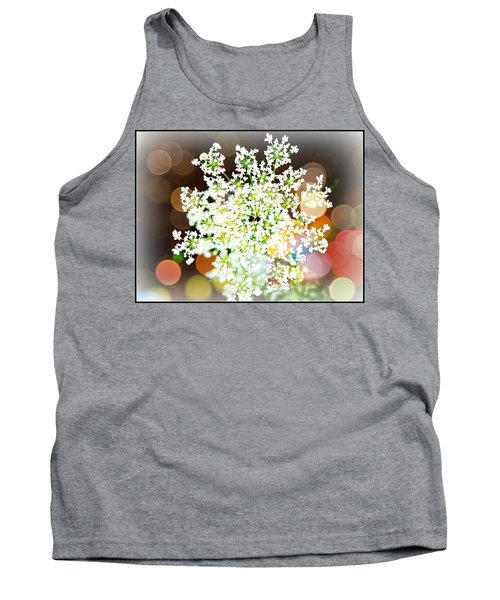 Burst Of Light Kaleidoscope Tank Top