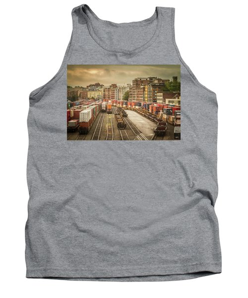 Busines End Of The City... Tank Top