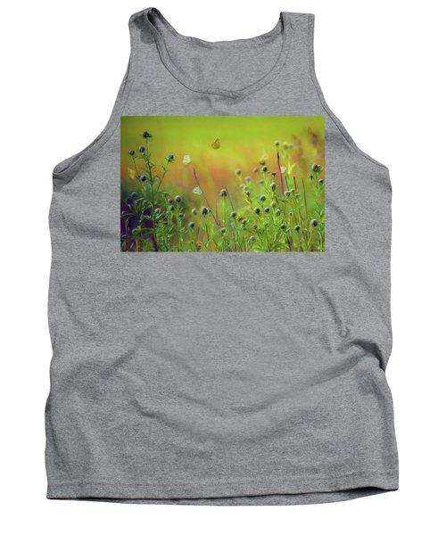 Butterflies - Wildflowers Tank Top