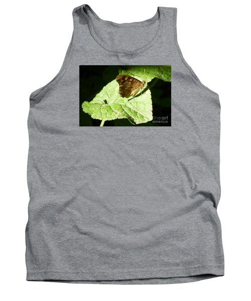 Tank Top featuring the photograph Butterfly 2 by Jean Bernard Roussilhe