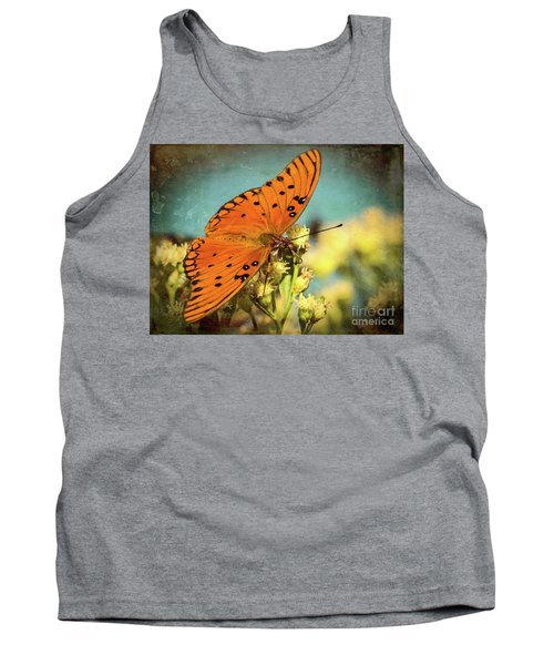 Butterfly Enjoying The Nectar Tank Top