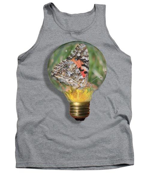 Butterfly In A Bulb II Tank Top