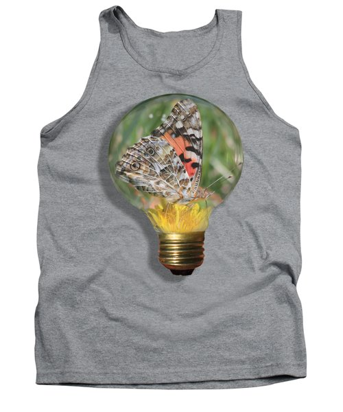 Butterfly In A Bulb II Tank Top