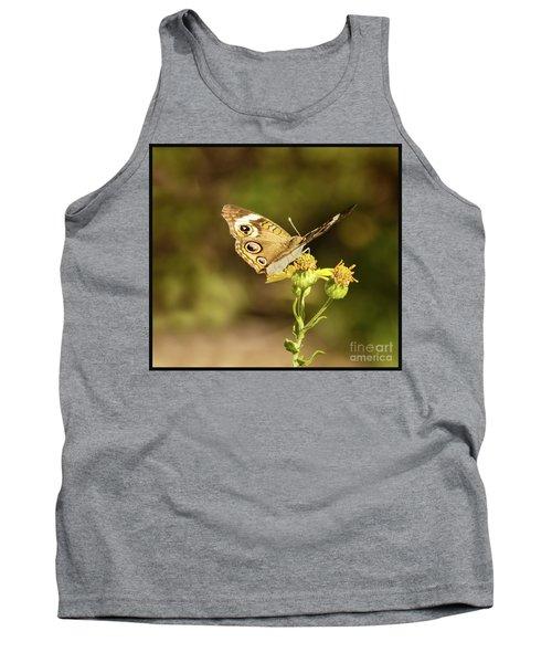 Butterfly In Bokeh Tank Top by Steven Parker
