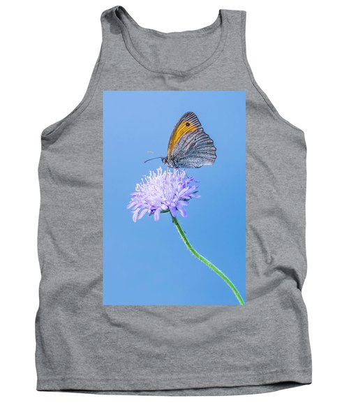 Tank Top featuring the photograph Butterfly by Jaroslaw Grudzinski