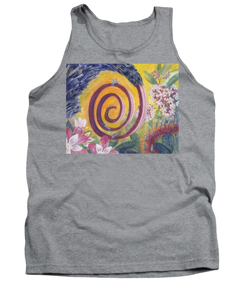 Butterfly's 'tongue' Tank Top