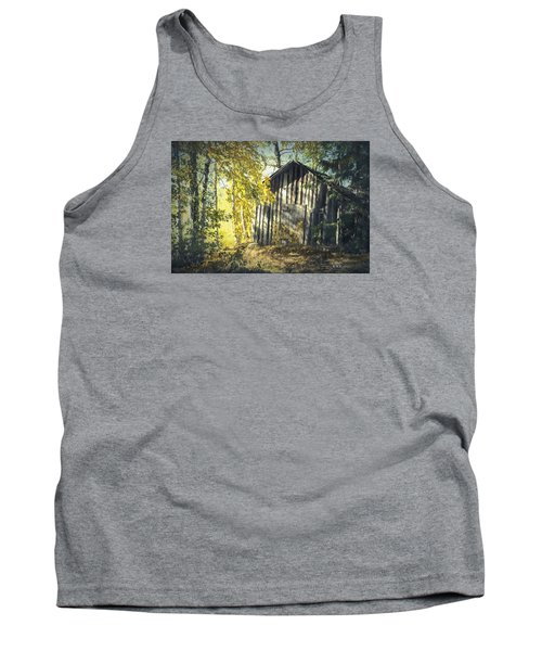 Tank Top featuring the painting By The Old Paths by Rose-Maries Pictures