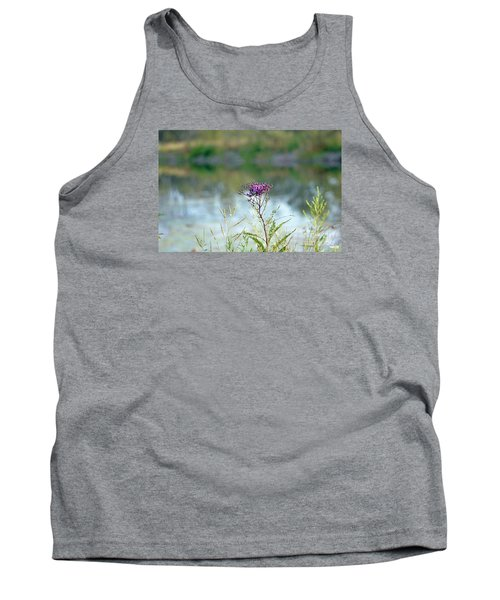 Tank Top featuring the photograph By The Pond by Lila Fisher-Wenzel