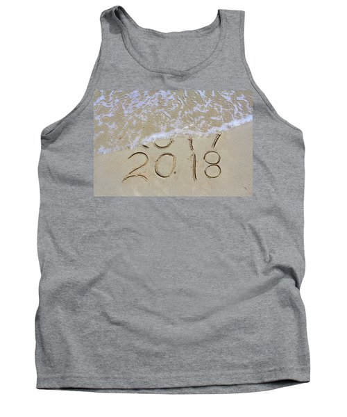 Bye Bye 2017 Welcome2018 Tank Top