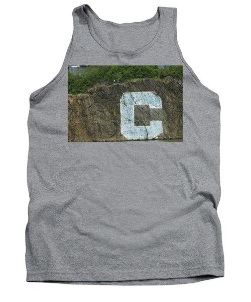 C Rock Of Columbia University Tank Top
