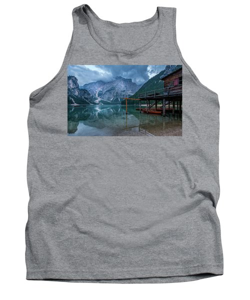 Cabin By The Lake Tank Top