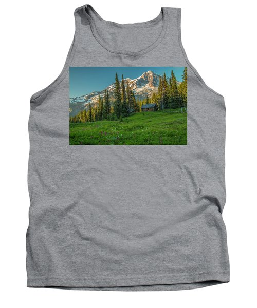 Cabin On The Hill Tank Top