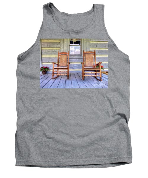 Cabin Porch Tank Top