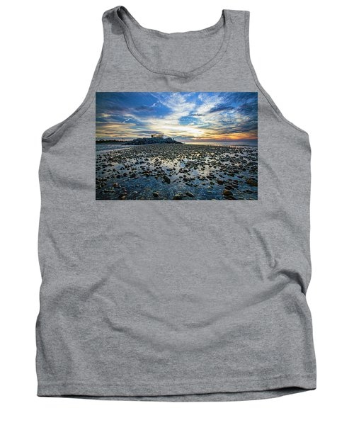 Cable Crossing Orient Point Sunset Tank Top