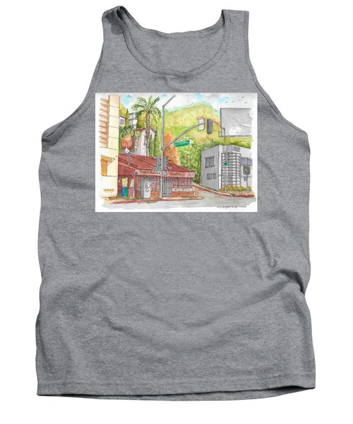 Cabo Cantina, Sunset Blvd And Sweetzer Ave., West Hollywood, California Tank Top