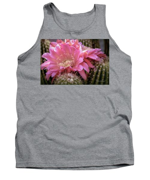 Cactus Bloom Tank Top