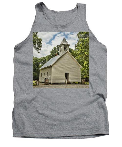 Cades Cove Primitive Baptist Church Tank Top
