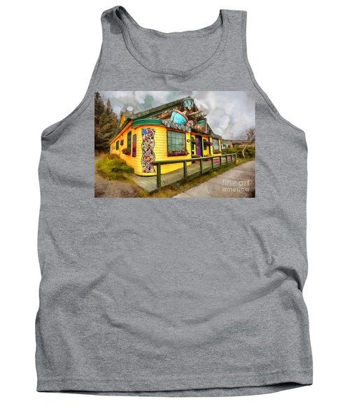 Cafe Cups Tank Top
