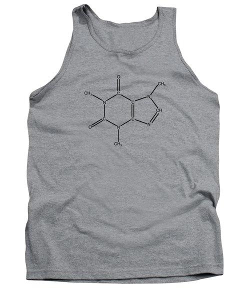 Caffeine Molecular Structure Vintage Tank Top by Nikki Marie Smith