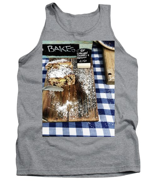 Cake Stall At A Market Tank Top