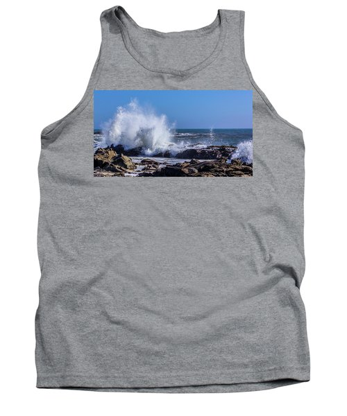 Wave Crashing On California Coast Tank Top