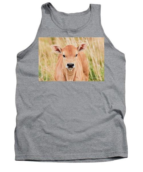 Calf In The High Grass Tank Top
