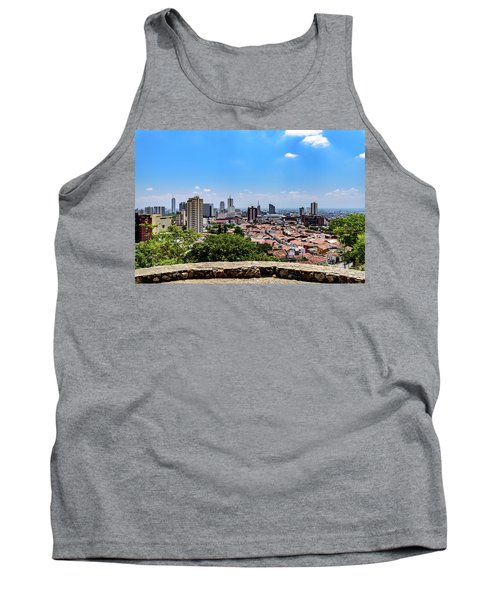Cali Skyline Tank Top by Randy Scherkenbach