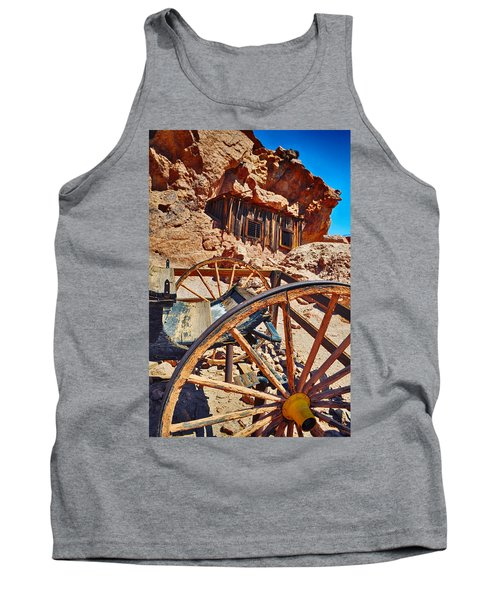 Tank Top featuring the photograph Calico Ghost Town Mine by Kyle Hanson