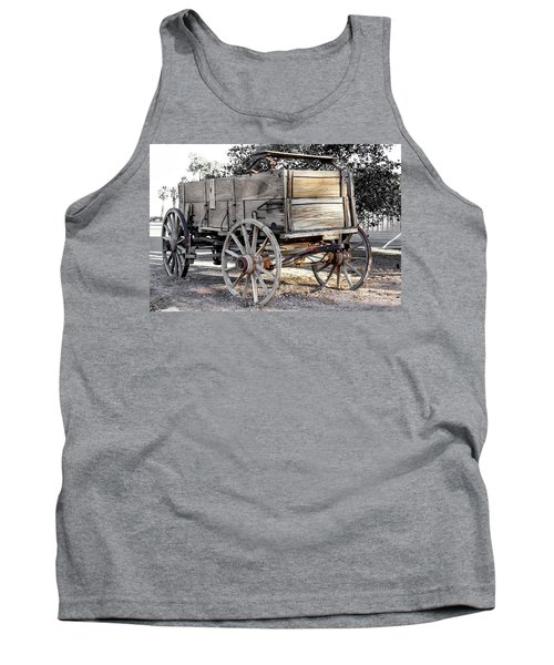 California Farm Wagon Tank Top