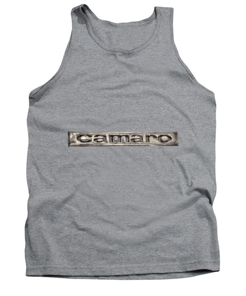 Camaro Emblem Tank Top
