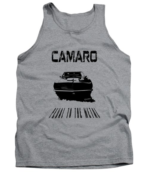 Tank Top featuring the photograph Camaro Ss - Pedal To The Metal by Kim Gauge