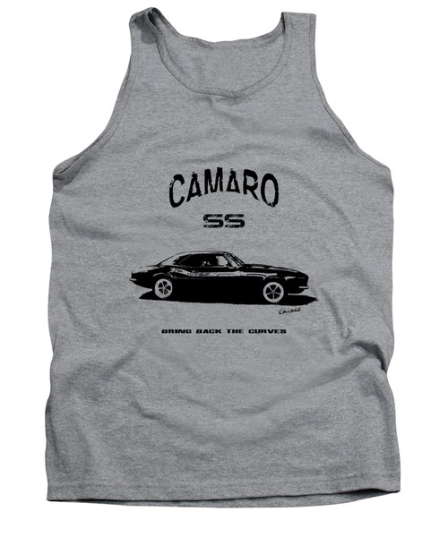 Tank Top featuring the photograph Camaro Ss V.2 by Kim Gauge