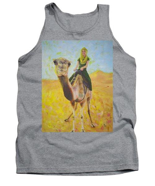 Camel At Work Tank Top