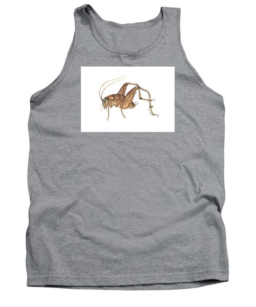 Camel Cricket Tank Top by Cindy Hitchcock