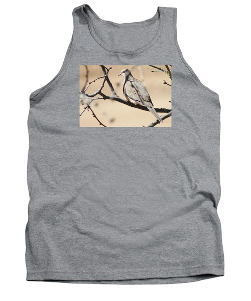 Camouflaged Mourning Dove Tank Top