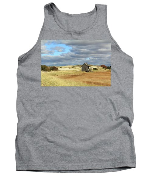 Camp On The Marsh And Dunes Tank Top by Roupen  Baker