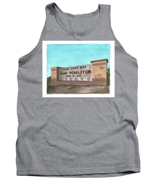 Camp Pendleton Welcome Tank Top