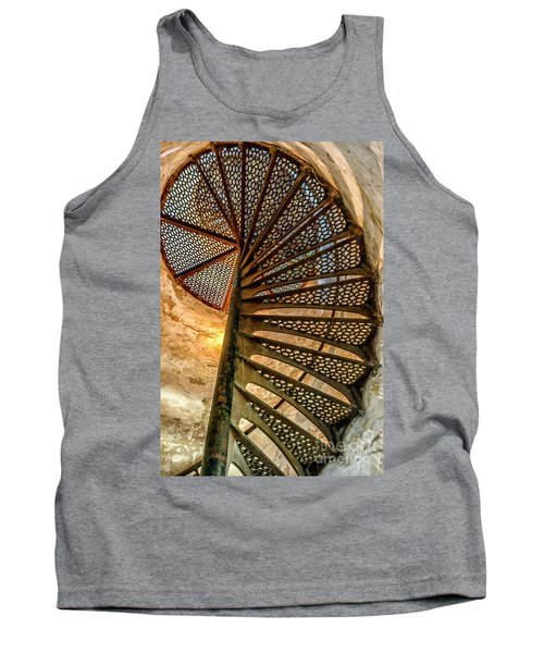 Cana Island Lighthouse Staircase Tank Top