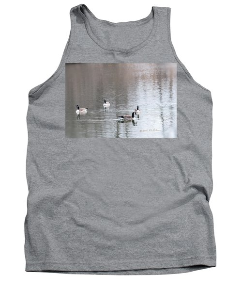 Canada Geese Swing Tank Top by Edward Peterson