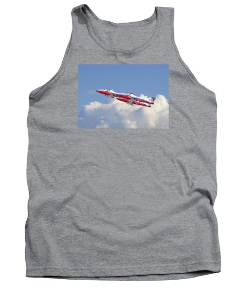 Tank Top featuring the photograph Canadian Air Force Aerobatic Team - Snowbirds by Pat Speirs