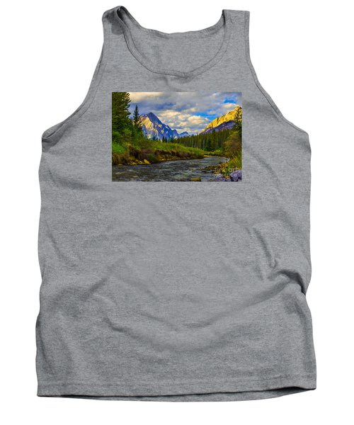 Canadian Rocky Mountains Tank Top by John Roberts