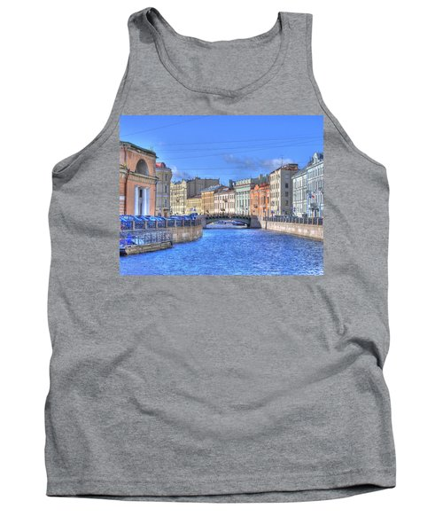 Canal In St. Petersburgh Russia Tank Top